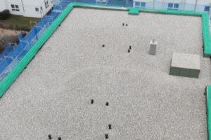 Bekiesung eines Flachdachs - Matic Bedachungen