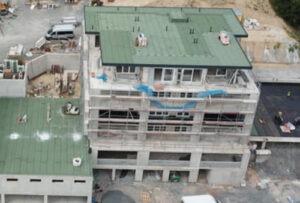 Gebäude gedeckt von Matic Bedachungen